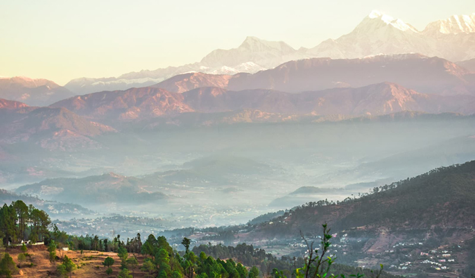 Honeymoon in Kausani